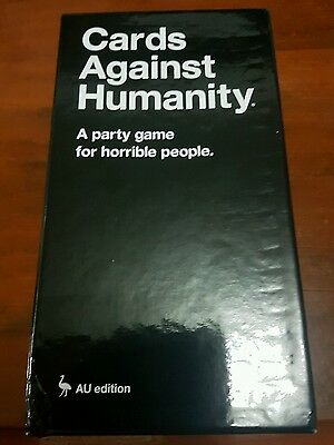 Cards Against Humanity AU Edition with no expansions
