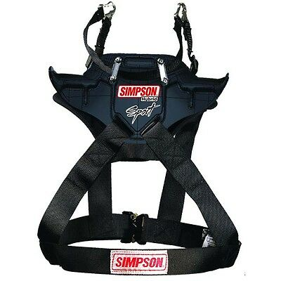 Simpson Hybrid Sport Youth/Xsmall/Child Head & Neck Restraint standard hans post