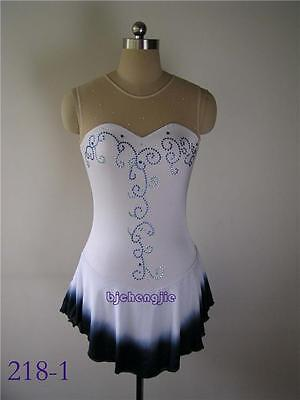 New custom Figure skating Competition dress 218-1 /adult M