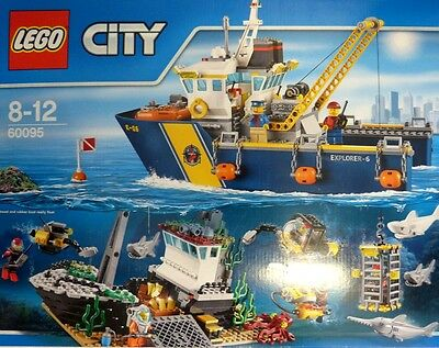 LEGO City 60095 Tiefsee Expeditionsschiff Neu OVP