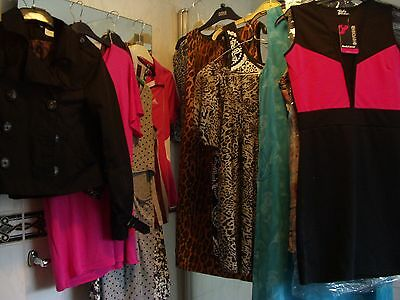 CLEARANCE SALE JOB LOT LADIES SMART DRESSES & TOPS CLOTHES SOME BNWT (ref A61)