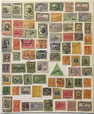COSTA RICA STAMPS LOT- Lot N°58 - Various Costa Rican Stamps