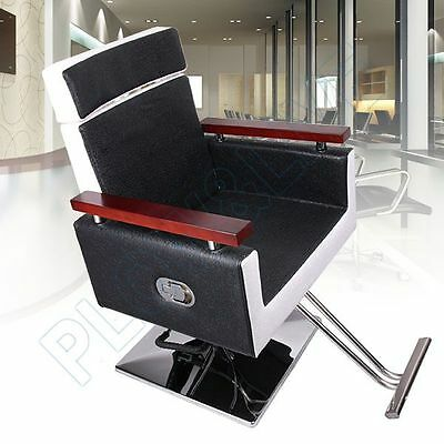 Fashion Soft Barber Chair Styling Salon Hydraulic Recline Beauty Hairdressing