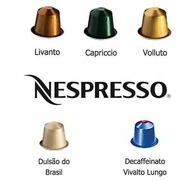 Free Shipping 50 Nespresso Capsules Balanced Family Pack