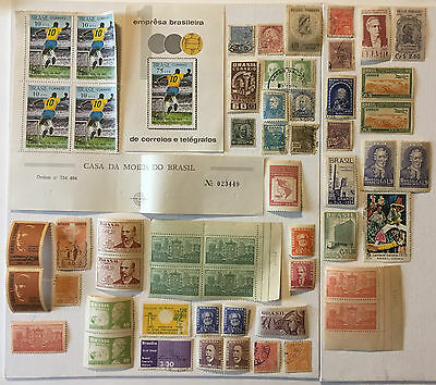 BRAZIL STAMPS LOT- Lot N°59 - Various Brazilian Stamps