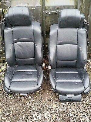 Bmw E93 M-Sport Black  Electric Memory Heated Leather Seats + Door Cards