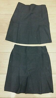 2 x Back To School Skirts - 10-11 years - Excellent Condition
