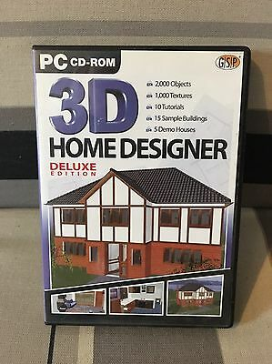 Pc CD-ROM 3D Home Designer
