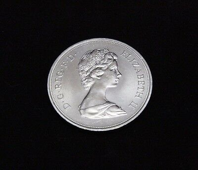 25 New Pence Elizabeth II And Philip Silver Wedding 1947-1972 KM# 917 SP# 4226