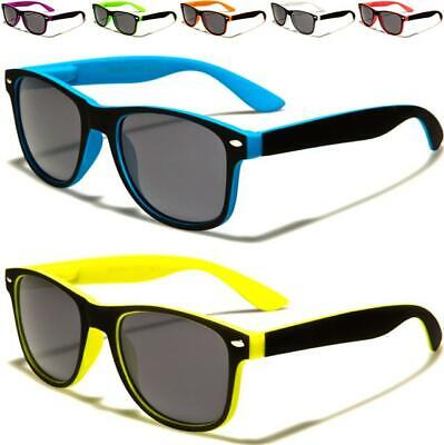 New Childrens Sunglasses Kids Boys Girls Designer Black Retro Vintage Uv400