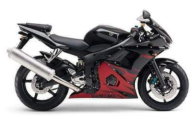 Manuale Officina Yamaha Yzf R6 (R) My 2003 Workshop Manual Service E-Mail