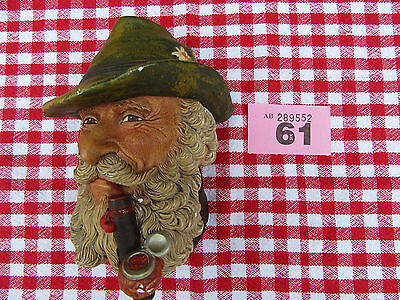 Bossons Vintage Tyrolean Head  Wall Plaque 1972 Made In England (Ref 61)