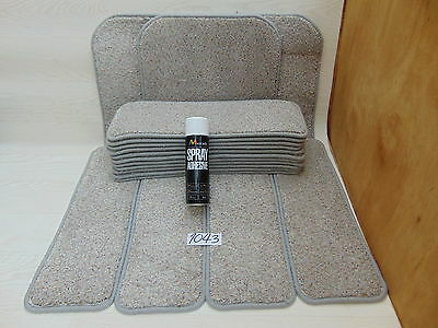 Stair pads 60 cm wide 15 off and 3 Big Mats with a FREE can of SPRAY GLUE 1043-2