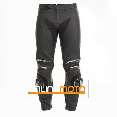 RST Tractech Evo II 1444 Leather Motorcycle Trousers Black
