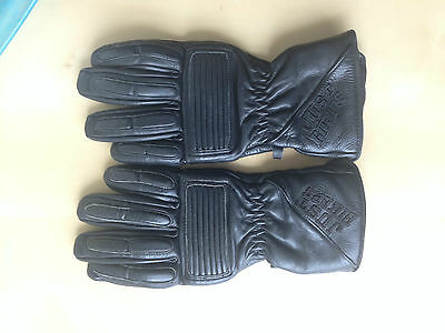 motorcycle leather gloves size s
