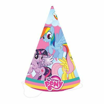 8pk My Little Pony Cone Party Hat Birthday Celebration Favour