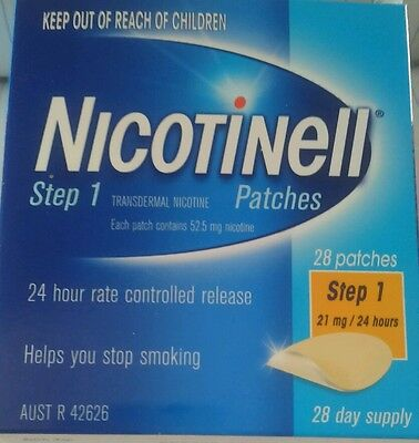 Nicotinell Patch Step 1 24 Hour Rate 21Mg 28 Patches