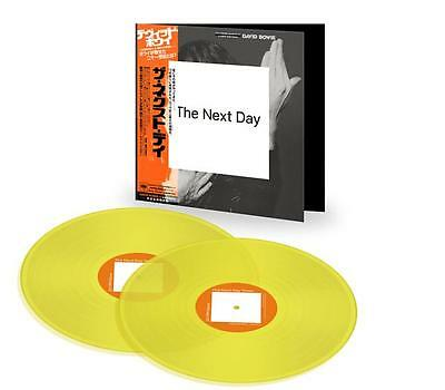 DAVID BOWIE THE Next Day Yellow Vinyl record Japan Japanese *New*