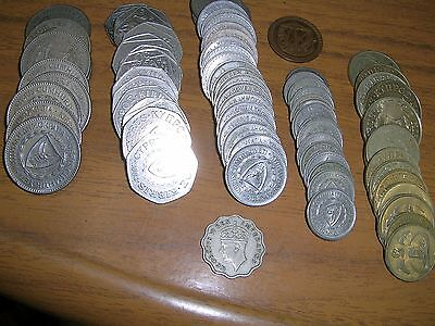 74 Cyprus coins