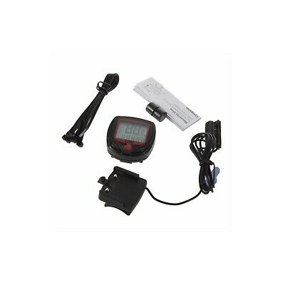 compteur vitesse velo moto scooter lcd digital temperature adaptable universel