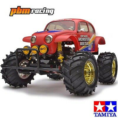 Tamiya Monster Beetle 2015 RC Electric 1/10th 2wd Buggy Kit 58618