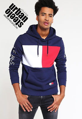 Sudadera capucha TOMMY HILFIGER jeans capsule collection 90s hoodie bruno mars