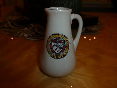 """Pearl Arms Crested China """"Jug """" Crest of """"Arundel"""""""