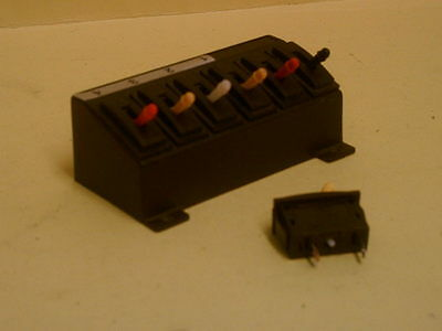 Peco two way switches in frame vgc u/b