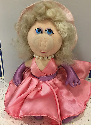 The Muppets Small Miss Piggy Beanie Plush Soft Toy