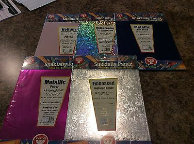 Lot Of Specialty Papers