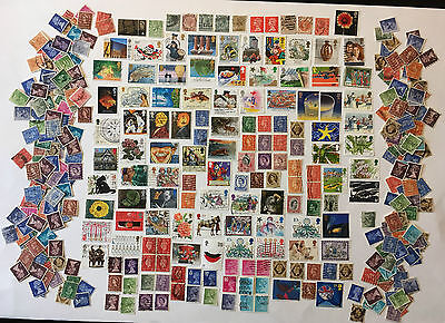 GREAT BRITAIN STAMPS LOT- Lot N°64 - Various English Stamps