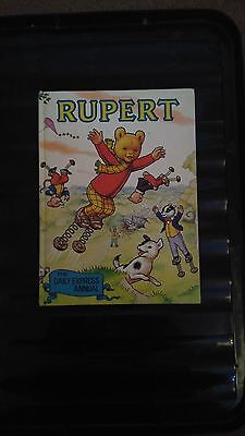 The Daily Express Rupert Annual 1982 Vintage Childrens Hardback