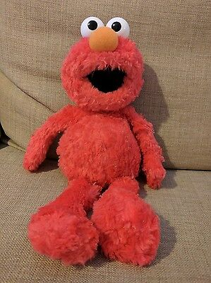 "Sesame Street Elmo 13"" Plush Soft Toy By GUND"