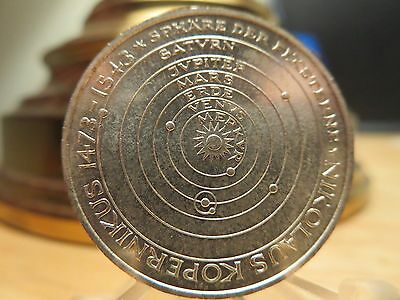 Silver .625 1973 J 5 Mark Germany Unc. World Coin Money KM 136 Planets Europe