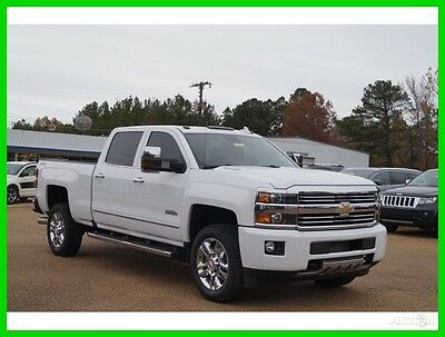 2016 Chevrolet Silverado 2500 High Country 2016 High Country Used Turbo 6.6L V8 32V Automatic 4WD Pickup Truck Bose Premium