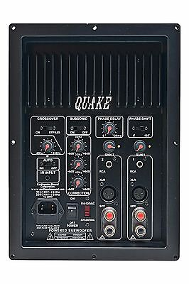 Earthquake Sound IQ-1500R Plateamp for Active Subwoofer, NEW