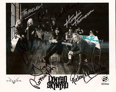 LYNYRD SKYNYRD - Signed Photo