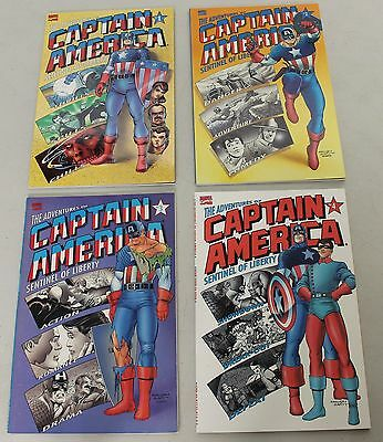 Marvel: The Adventures of Captain America: Sentinel of Liberty (1991) #1-4 SET