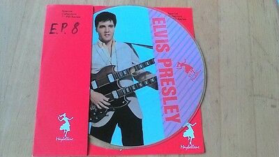 """Elvis Presley 7"""" Picture Disc """" Mess Of Blues - It's Now Or Never """" 1987"""