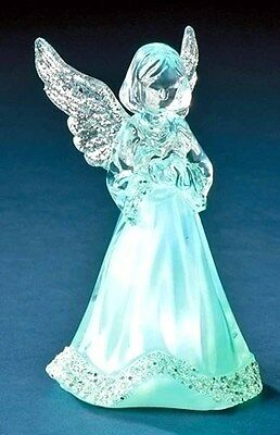 Little Angel with Tricolor LED Acrylic (33122) NEW Changes Color