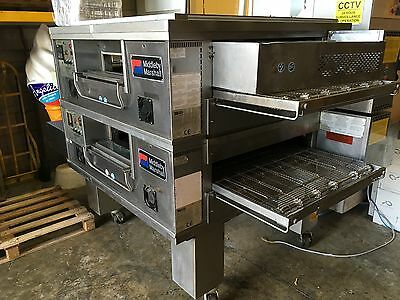 Middleby Marshall -  Ps555G Gas Double Conveyor Pizza Ovens