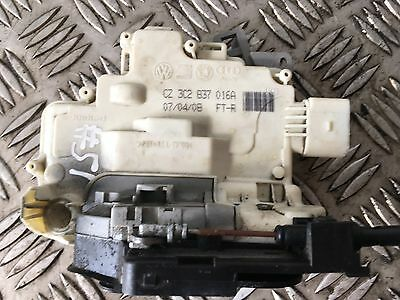 Vw Passat B6 2005-10 Osf Front Right Driver Side Door Lock Mechanism 3C2837016A