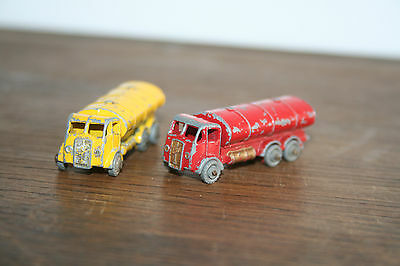Lesney Erf Esso Tanker And Other,small Scale