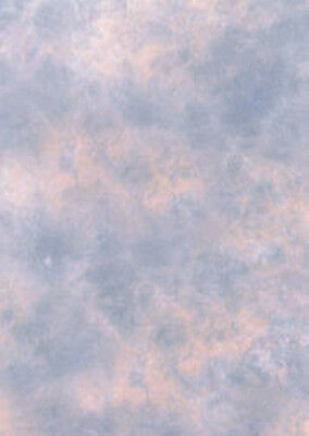 Photographic Background, Studio Backdrop, 2.4m x 2.4. Pink / Blue. Clouded.