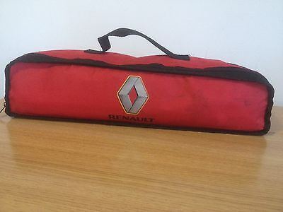 Renault Travel Kit Bag Warning Triangle Safety First Aid High Vis Road Emergency