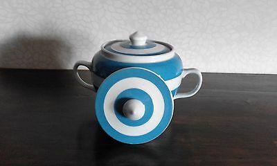 """T.g. Green  Cornishware..  """"sucrier"""" Sugar Bowl Lid Only."""