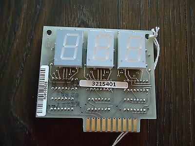 New Stripper Display Board/pcb #2892, C02890D. For Branson/fose Ind.