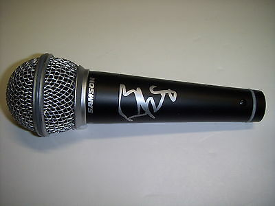 Brad Paisley Signed Microphone (Proof)