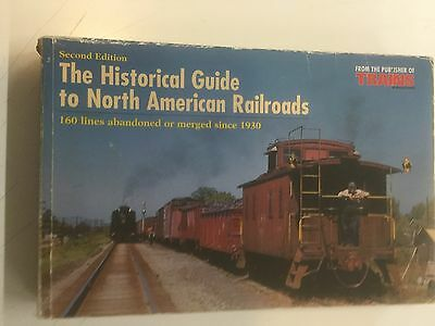 Libro Ferrovie Usa  :  The Historical Guide To North American Rr / 480 Pag.