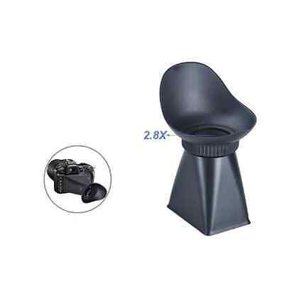 """Goliton® Camera LCD Viewfinder 2.8x 3"""" Magnifier Eyecup Hood for Canon 550D"""